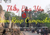 Thầy làm bùa yêu ở tỉnh SiamReap Campuchia