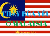 Thầy làm bùa ngải yêu ở Malaysia